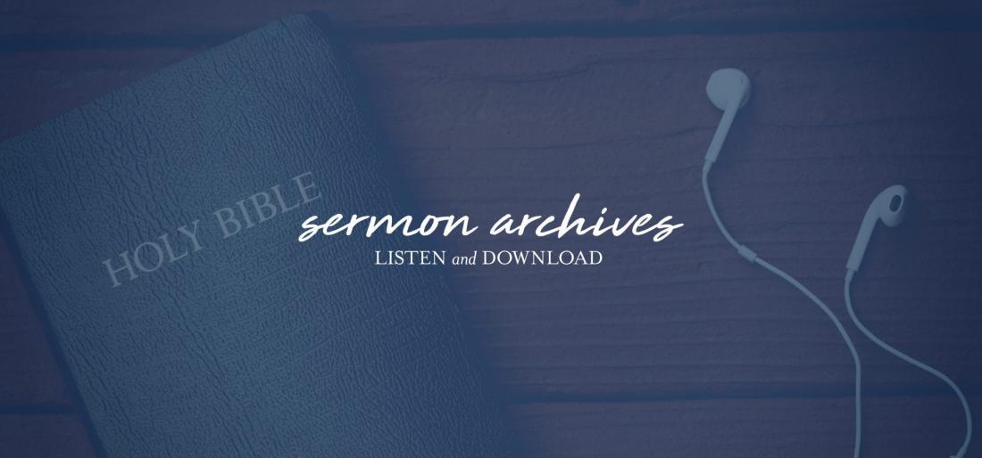 Sermon Archive Link
